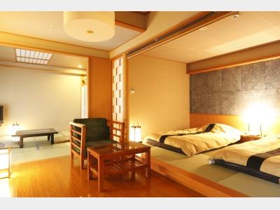 露天風呂付和室+和ベッド(TW)(一例)