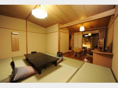 露天風呂付和室(一例)