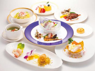 夕食一例(中国料理)