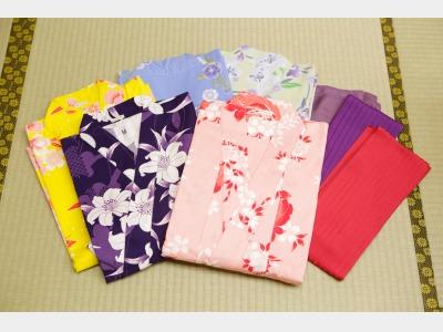 えらべる色浴衣(女性用)