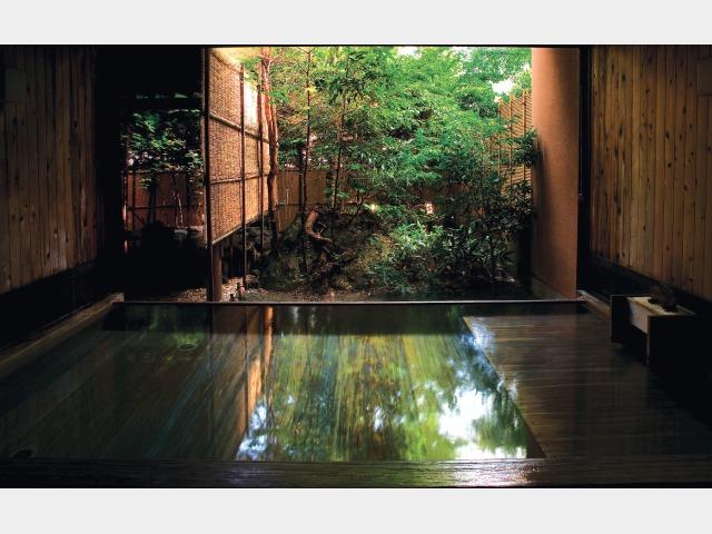 内風呂(水月の庄 星の湯)