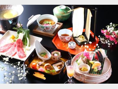 日本の宿 夕食イメージ