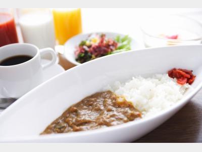 朝食(朝カレーイメージ)