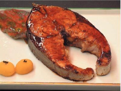 夕食イメージ(ブリの照焼)