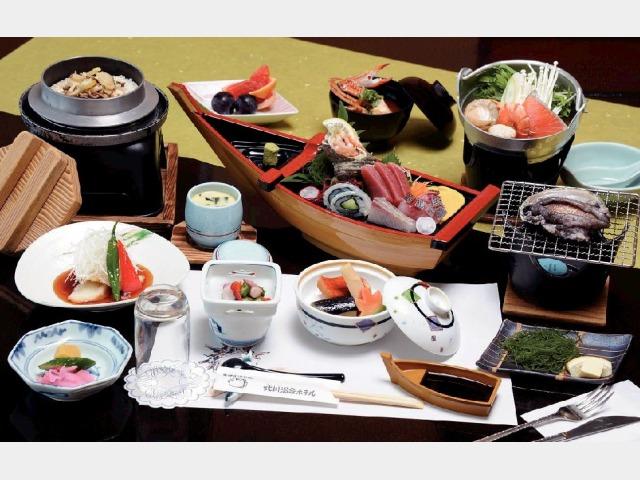 夕食(海鮮料理)
