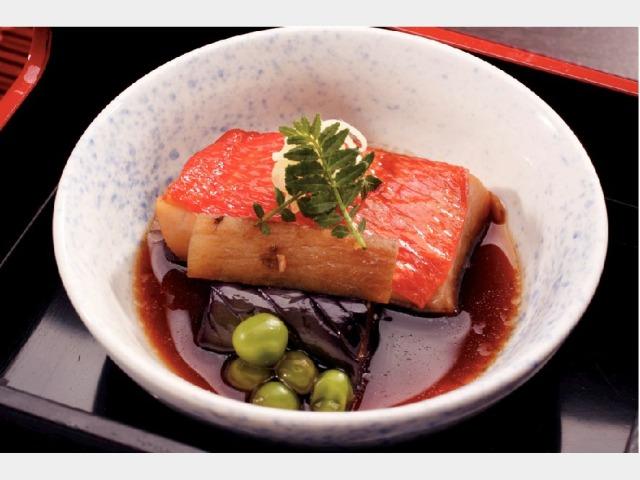 夕食イメージ(金目鯛の煮付け)