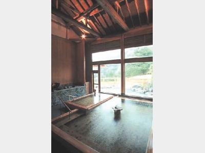 大浴場(大総檜風呂)