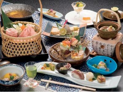 夕食一例(会席料理)