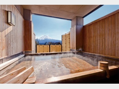 見はらし露天風呂(富士の湯)