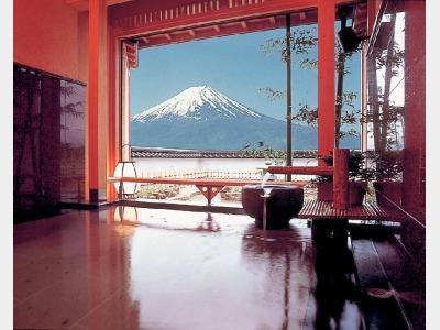 富士山展望貸切露天風呂