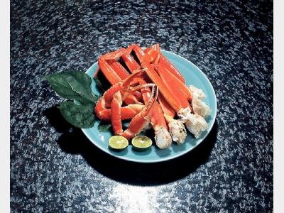 夕食イメージ(かに)