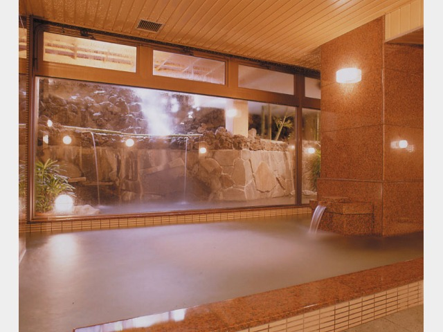 大浴場(湖汀の湯)