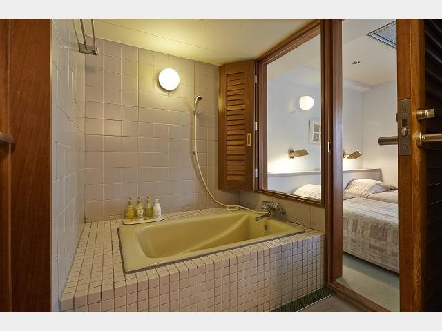 ホテルスポルシオン 客室バスルーム