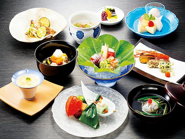 夕食一例(日本料理)