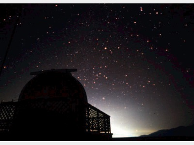 星空と天体ドーム