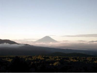 眺望イメージ(展望デッキから見る富士山)