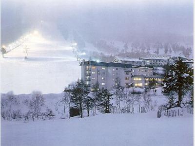 志賀高原スキー場積雪