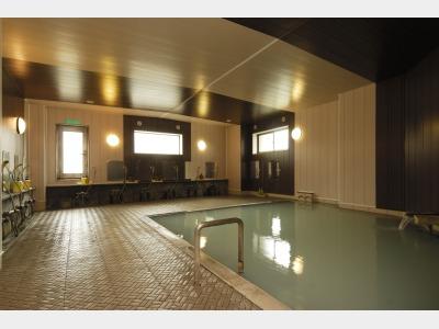 濁り湯温泉大浴場