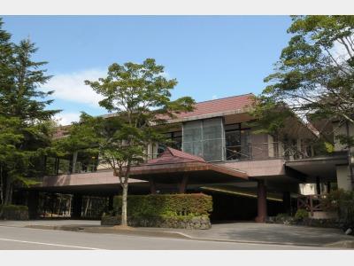 ホテルマロウド軽井沢の外観
