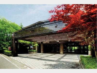 ホテルサイプレス軽井沢の外観