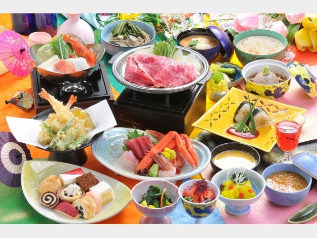 日本の宿 会席料理イメージ 宿コレクション 味覚イメージ