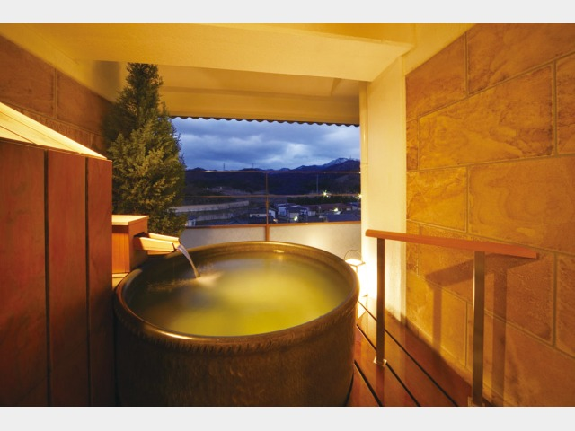 露天風呂付客室和室タイプ