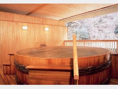 樽桶露天風呂
