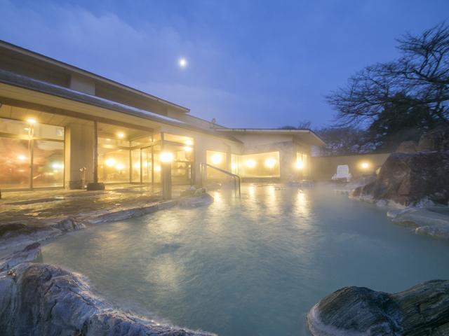 庭園大露天風呂