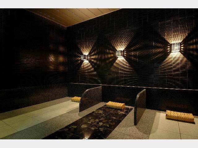 岩盤浴 女性浴場(別途¥500・時間制限なし)