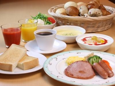 朝食(洋定食イメージ)