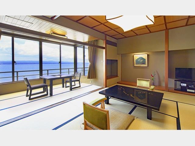 能登客殿の一例 ※海側と街側のお部屋がございます。