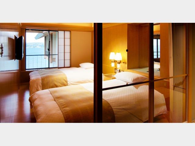 能登渚亭 和洋室の一例