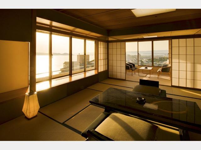特別階浜離宮の客室一例 ※数多くある客室タイプの中の一例です。