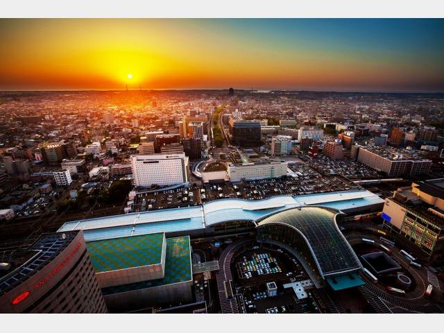 景色イメージ ホテルからの眺望 夜