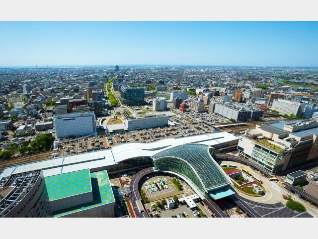 景色イメージ ホテルからの眺望 日中