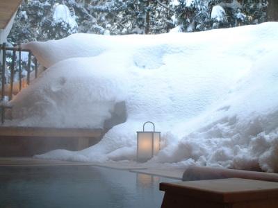 大浴場露天風呂イメージ(冬)