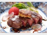 【新館】能登牛ステーキ一例