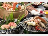 【新館】鳳凰加能ガニ懐石料理の一例