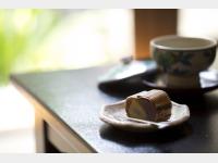 自家製お茶菓子「栗蒸しようかん」