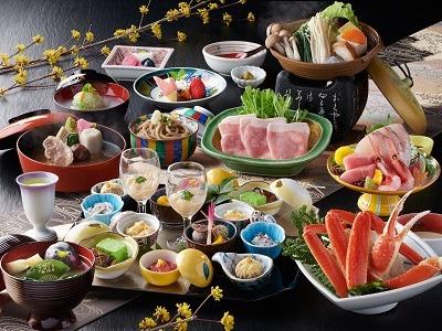 20下夕食一例(白雲膳/前菜は2人前)