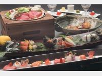 料亭「季の蔵」夕食一例