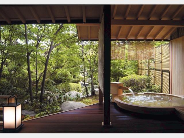 客室一例 露天風呂付 1階