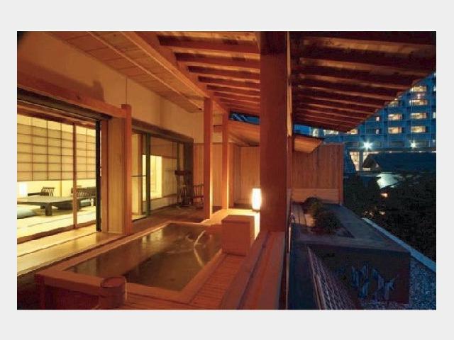 客室一例 露天風呂付 2階