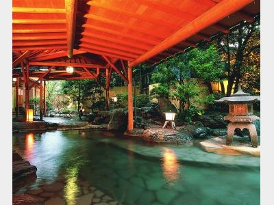 庭園露天風呂(女性用)