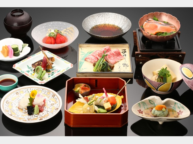 夕食一例(部屋食&味覚)