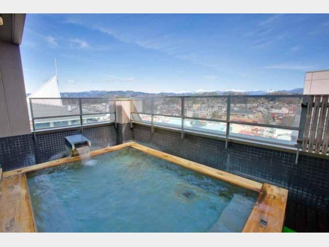 喜多館9階露天風呂