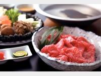 夕食(飛騨牛しゃぶしゃぶ会席)