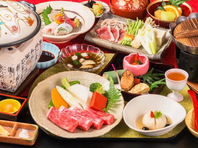 近江牛ステーキ会席(イメージ)