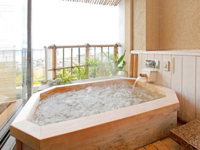 客室一例 客室付露天風呂 里山