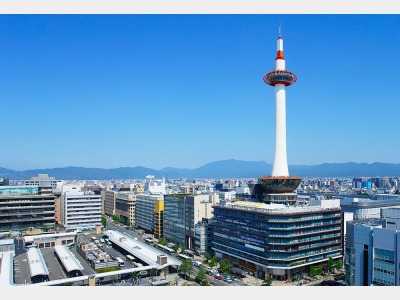 京都タワーホテルの外観